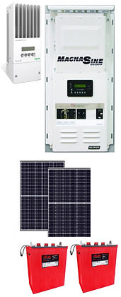 Cabin Off-Grid Solar Alaska Renewable Energy Systems