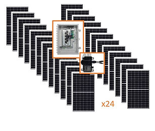 7.8kw Premium Solar Kit Renewable Energy Systems of Alaska Best Grid-Tie Solar