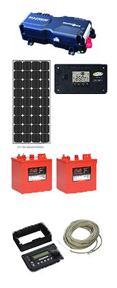 Cabin and RV Solar Alaska Renewable Energy Systems