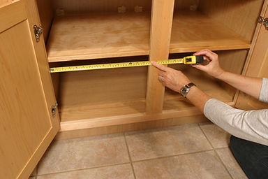 how to measure your slidingsusan and cabinet opening