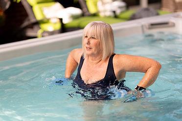 HydroPool Executive Trainer 19Ex Swim Spa