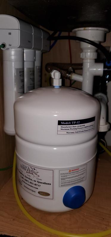 Alaska EcoWater Installation Drinking Water System Reverse Osmosis Alaska