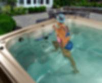 HydroSpa AquaTrainer 19 FT with Hot Tub