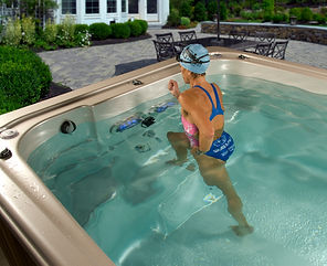 HydroPool AquaTrainer 19 FT with Hot Tub