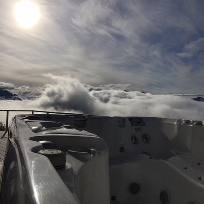 Arctic Home Living Hot Tub Alaska Jacuzzi Sundance Spa