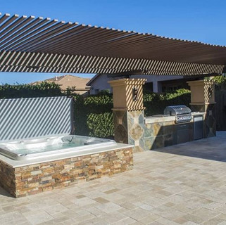 sundance-hot-tub-deck-installation-roof-
