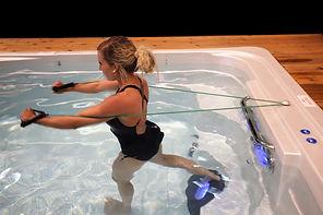 HydroPool AquaTrainer 14 AX Swim Spa