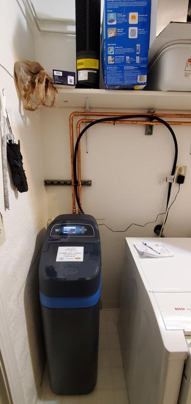 Alaska EcoWater Installation Water treatment system