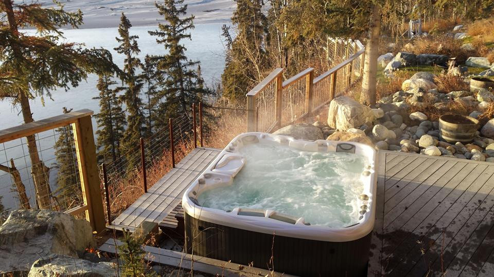 Arctic Home Living Hot Tub Alaska Jacuzzi Sundance Spa