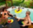 Family swimming Swim Spas in Montana Hydropool Endless Swimming Pool Big Sky Spas Billings
