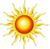 solstic medicine and wellness sun logo