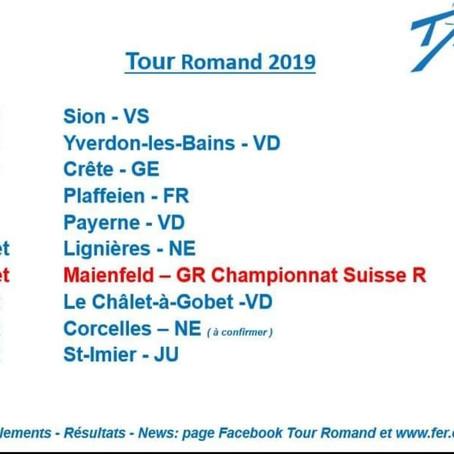 TOUR ROMAND 2019 - Let's Go!