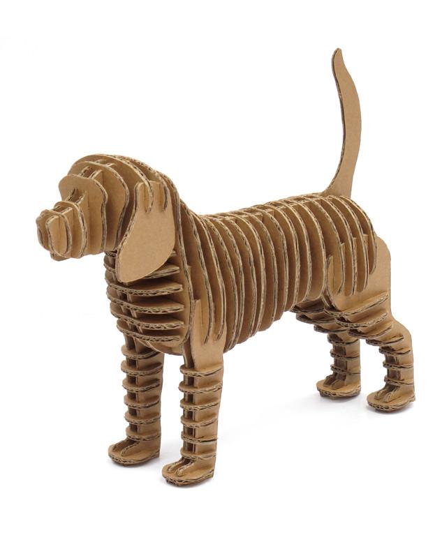 Cardboard Dog 5