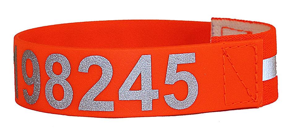 Hondensignaalband met telefoonnummer ZR