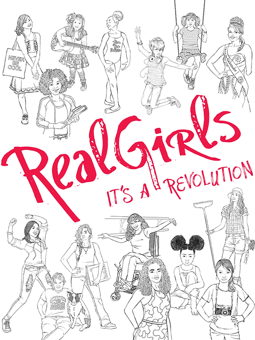 RealGirls coloring book