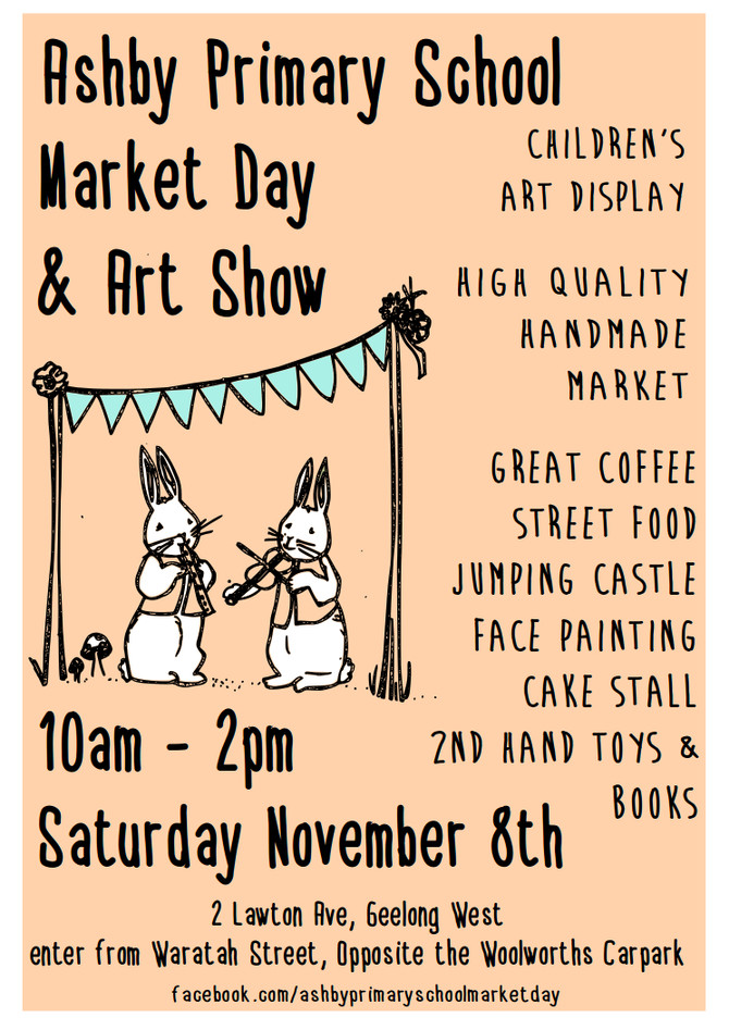 Ashby Primary School Art Show and Market Day 2014