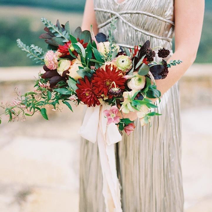 Flowers by Fox and the Fleur. Photo courtesy of Becca Lea Photography