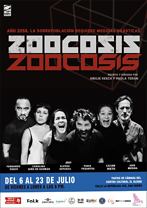 Zoocosis, Afiche