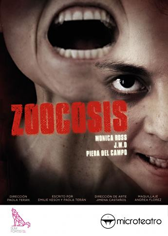 Zoocosis 1, afiche