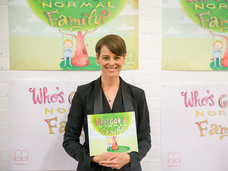 Who's Got a Normal Family? launches on Sydney's Northern Beaches