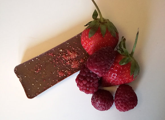 Strawberry and Raspberry Taster Bar