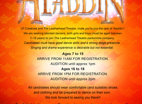 Panto Auditions!