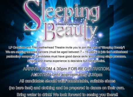 Sleeping Beauty - Children's dancers auditions