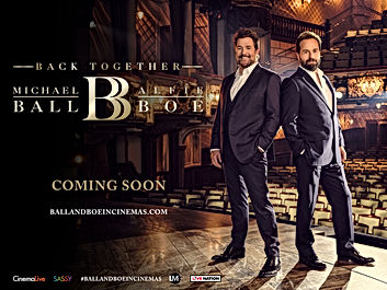 *SOLD OUT* Michael Ball & Alfie Boe: Back Together