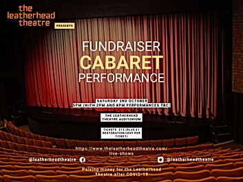 Replay of the Leatherhead Cabaret Fundraiser