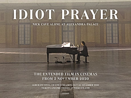 Idiot Prayer- Nick Cave Alone at Alexandra Palace