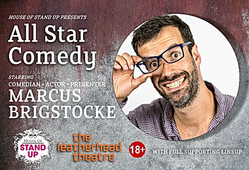 House of Stand Up Presents All Star Comedy - September