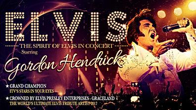 The Spirt of Elvis starring Gordon Hendricks