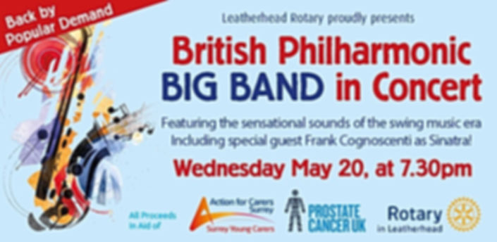 *CANCELLED* British Philharmonic Big Band in Concert