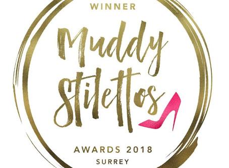 MUDDY STILETTOS AWARDS WINNER!