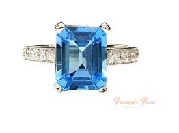 Anillos con diamantes y gemas