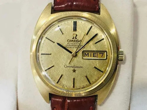 Omega Constellation Day Date Oro Sólido 18k