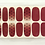Thumbnail: Mini Burgundy Polka