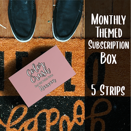 Monthly Themed Subscription Box (5 Strips)