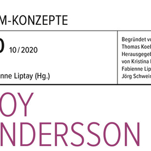 Filmbuch: Roy Andersson (Film-Konzepte 60)