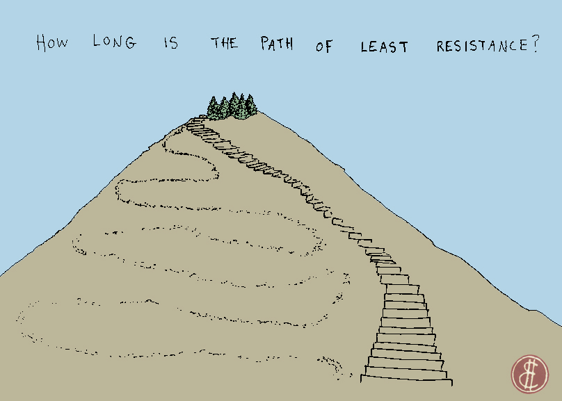 Path of least