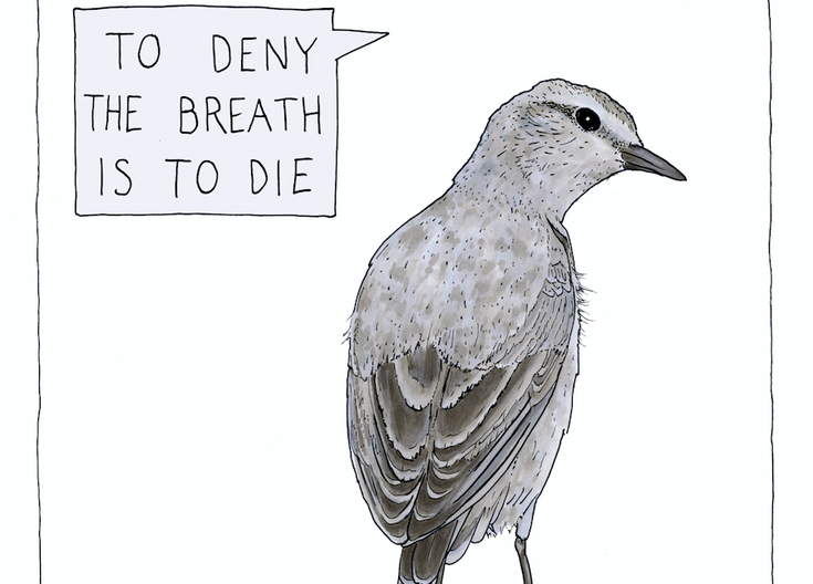 To Deny the Breath is to Die
