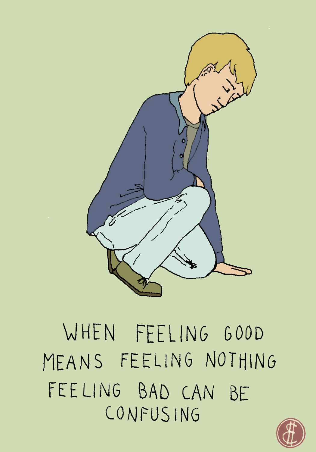Feeling nothing