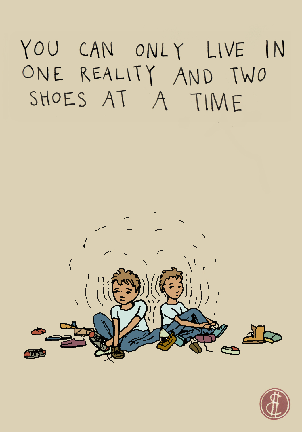 1 reality 2 shoes