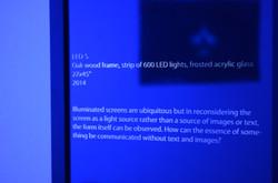 Illuminated text box
