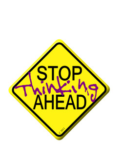 stop thinking ahead