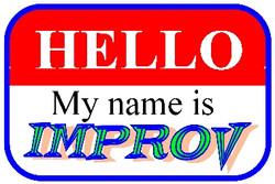 Hello My Name IS Improv