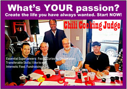 Whats Your Passion Chili Cooking Judge