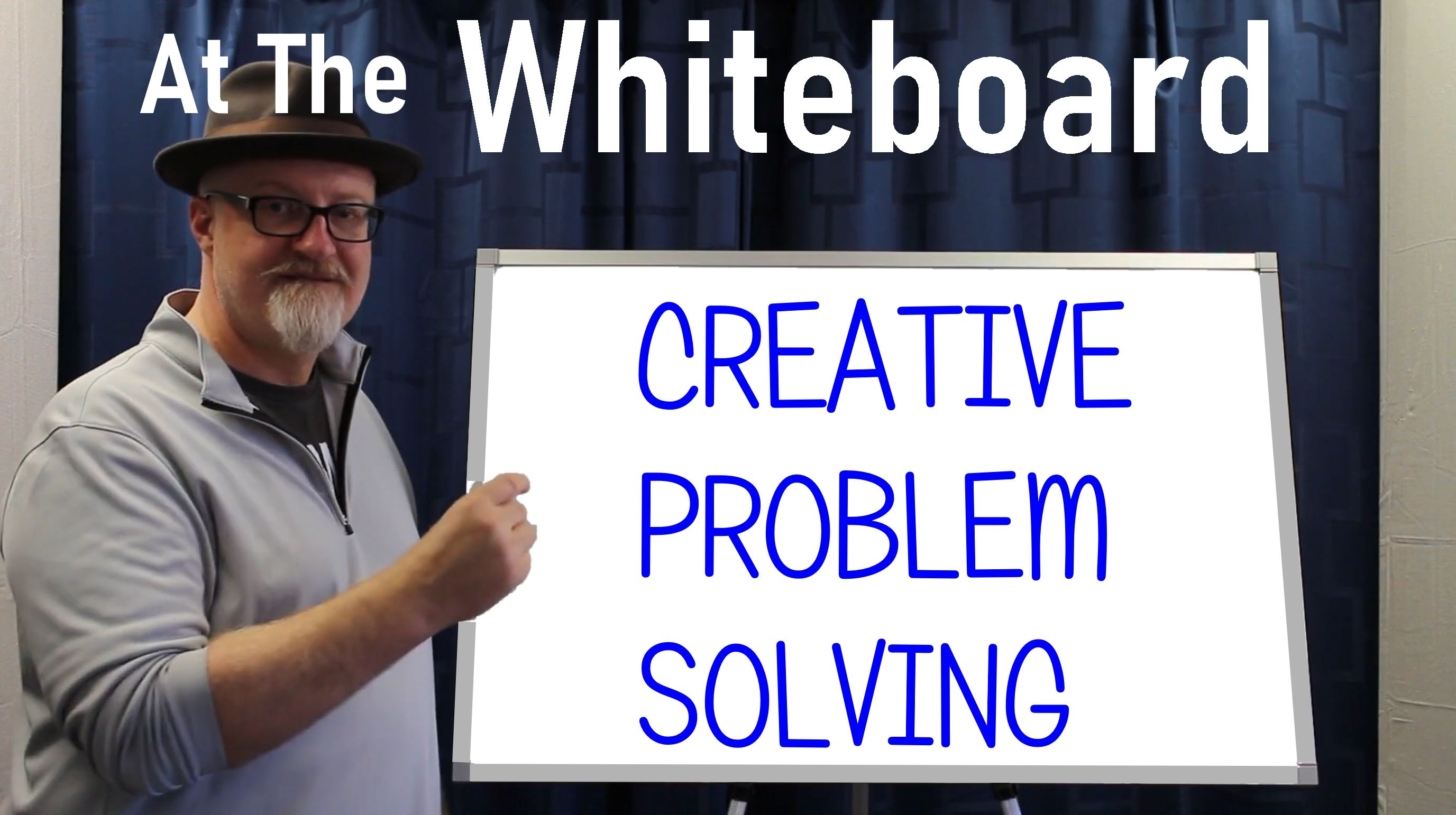 WHITE BOARD CREATIVE PROBLEM SOLVING