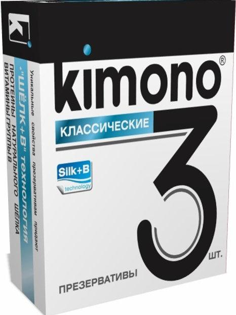 ПРЕЗЕРВАТИВЫ KIMONO (классические) 3 шт