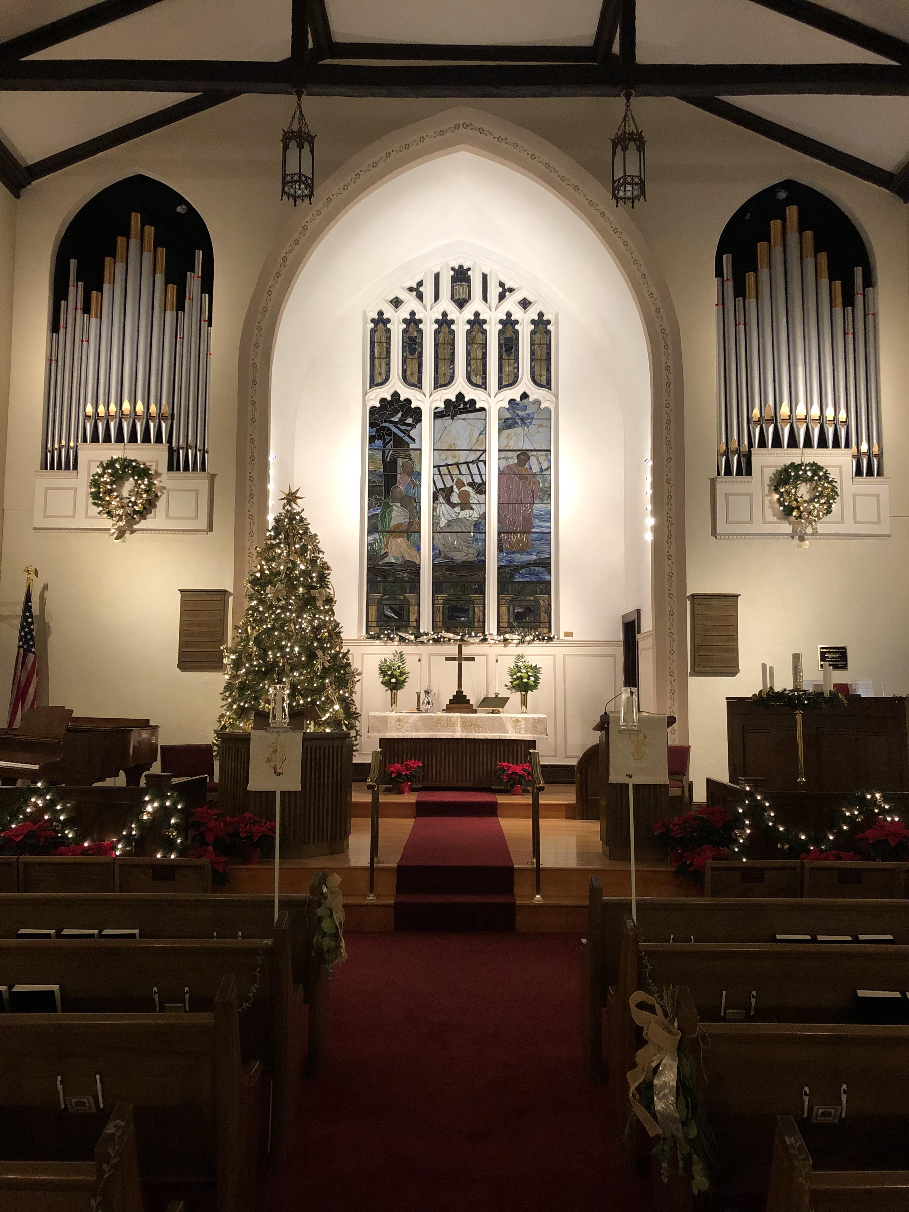 Christmas Chancel
